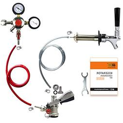 BACOENG A Tap Kegerator Door Refrigerator Conversion Kit No