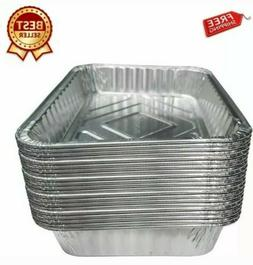 BBQ Aluminum Foil Grease Grill Drip Catch Tray Pans Recyclab
