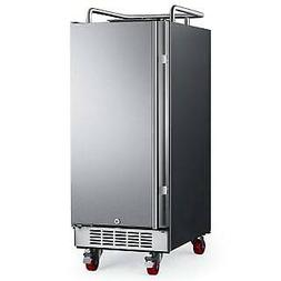 "EdgeStar BR1500  15"" Wide Kegerator Conversion Refrigerator"