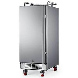 "EdgeStar BR1500OD  15"" Wide Outdoor Kegerator Conversion Ref"