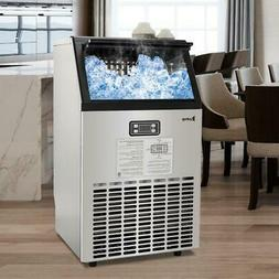 Built-In 100lbs 30kg Stainless Steel Commercial Ice Maker Ma