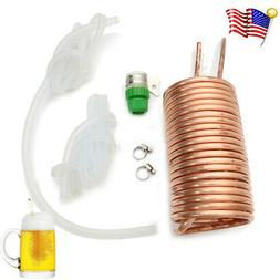 Copper Cooling Coil Home Kegerators Brewing Wort Chiller Pip