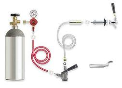 kegerator conversion kit with co2 tank convert
