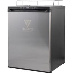 KOMOS Kegerator with Stainless Steel Door, Digital Thermosta