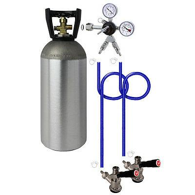 Kegco 2 Keg Direct Draw Kit for Kegerators and Jockey Boxes