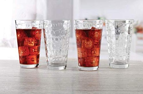 of Highball Tumbler Drinking Cups for Beer,