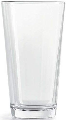 Circleware 40219 Huge 8-15.7 & oz, Highball Drinking Glasses and Cups, for Water, Beer, Juice, Ice Beverages Spirit