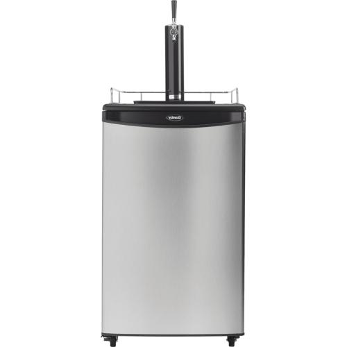 5 4 cu ft kegerator single tap