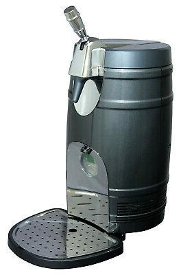 Koolatron - 5l Mini Keg Cooler - Gray