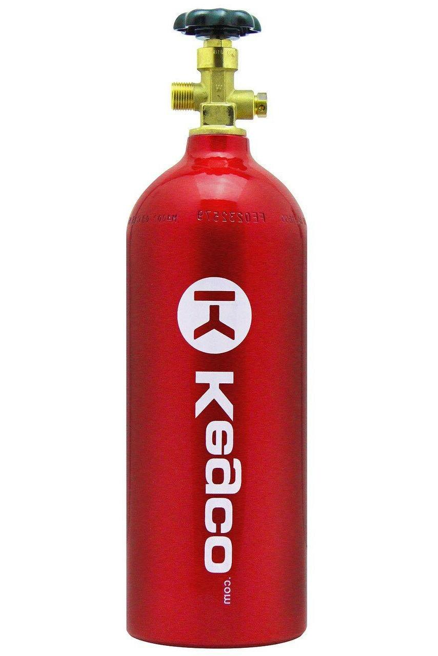 Kegco,CO2 Tank,Two Product Lever Handle,Double NEW