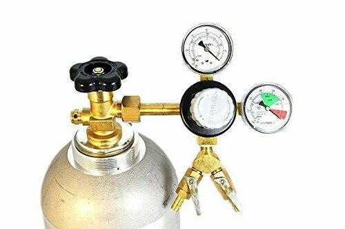 Taprite Commercial 2-Product Dual Gauge Primary Kegerator Re
