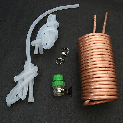 Copper Cooling Coil Kegerators Wort Chiller Pipe Stainless