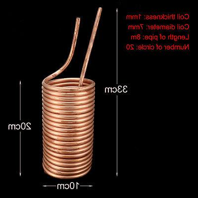 Copper Coil Kegerators Wort Pipe Stainless