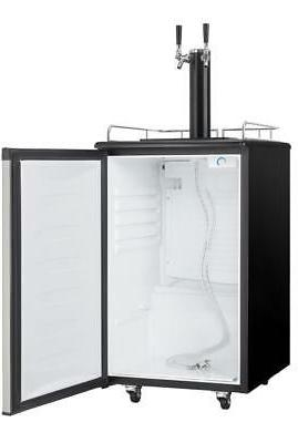 Wide 5.4 Ft. Full Size Free Kegerator with