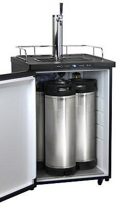 Kegco Digital Kegerator Single Faucet Ball Keg