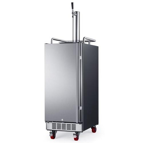 kc1500ss built stainless steel kegerator