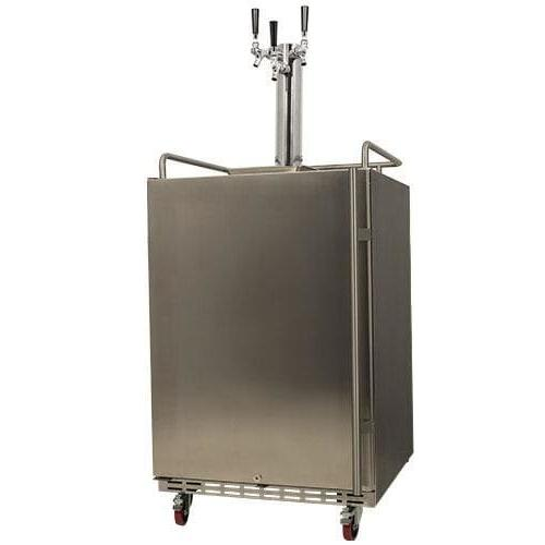 kc7000sstrip full size triple tap tower cooled