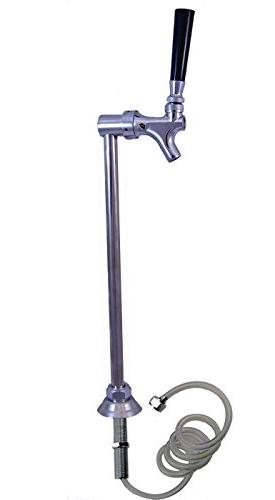 Upright Slim Tower, Kegerator, SS304 Faucet