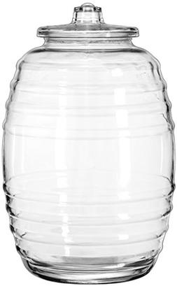 Circleware 06528 Sedona Huge Canister with Glass Lid Home an