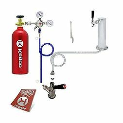 Kegco Standard Tower Kegerator Conversion Kit with 5 lb. Co2